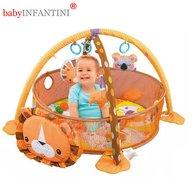 babyINFANTINI - Salteluta de activitati Lion Grow-With-Me cu mingiute