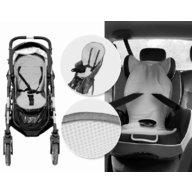BabyMatex - Protectie antitranspiratie pentru scaun auto si carucior Aeroline Paddi bej