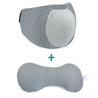 Babymoov A108811 Set suport bream belt + perna multifunctionala 3 In1 mum & b