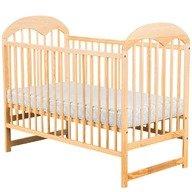 BabyNeeds Patut din lemn Oskar 120x60 cm Natur