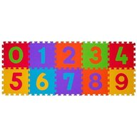 BabyOno - Puzzle 10 piese 6m+ Cifre