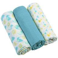 BabyOno - Scutece textile pentru bebelusi 3 buc Albastru