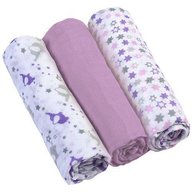 BabyOno - Scutece textile pentru bebelusi 3 buc Mov