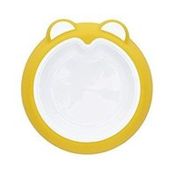 Badabulle - Farfurie anti-alunecare Sunshine Yellow
