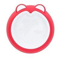 Badabulle - Farfurie anti-alunecare Intense Pink