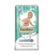 Bambyo - Scutece eco unica folosinta, nr 3, 42 buc