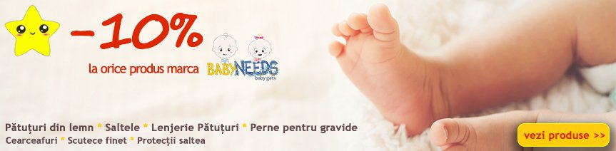Promo Produse BabyNeeds 10%