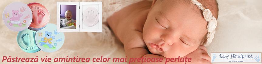 Kit-uri amprenta mulaj marca Baby Handprint