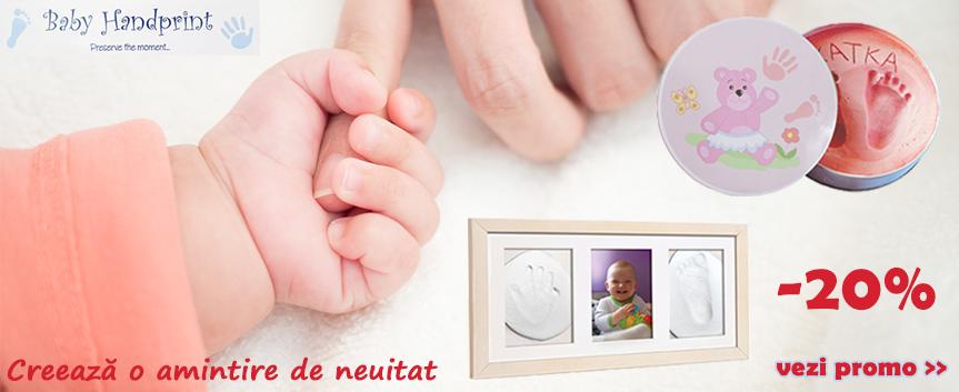 Promo Baby Handprint mai 2019
