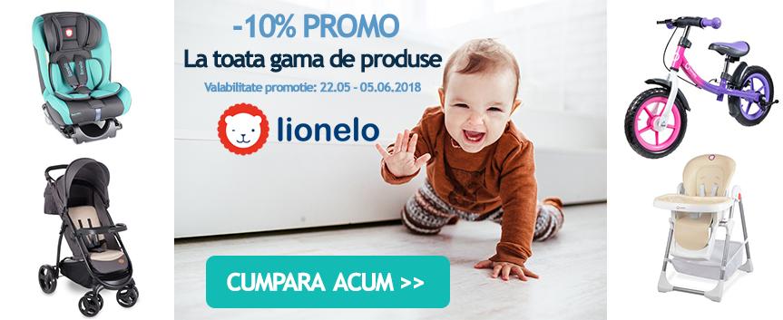 promotie 10% Lionelo