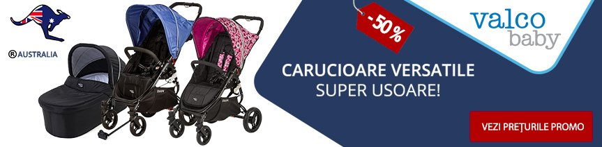 Promo Valco-Baby 50% REDUCERE