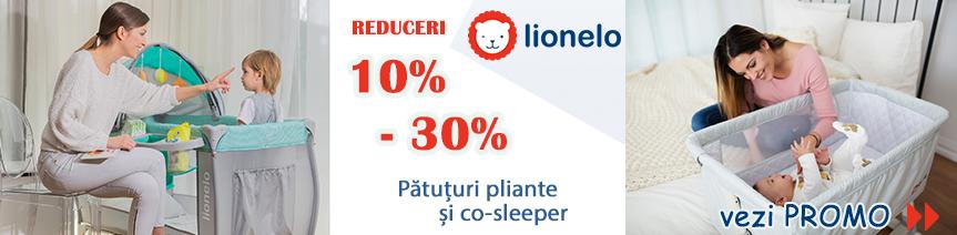 Promo Lionelo februarie 2019 - Pătuțuri pliante și