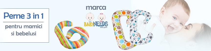 Perne 3 in 1 marca BabyNeeds