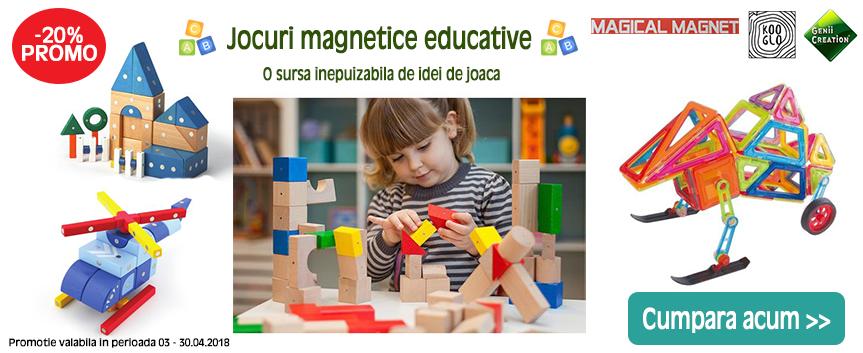 Jocuri magnetice educative Promo