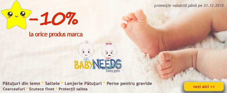 Promo Marca BabyNeeds 10%