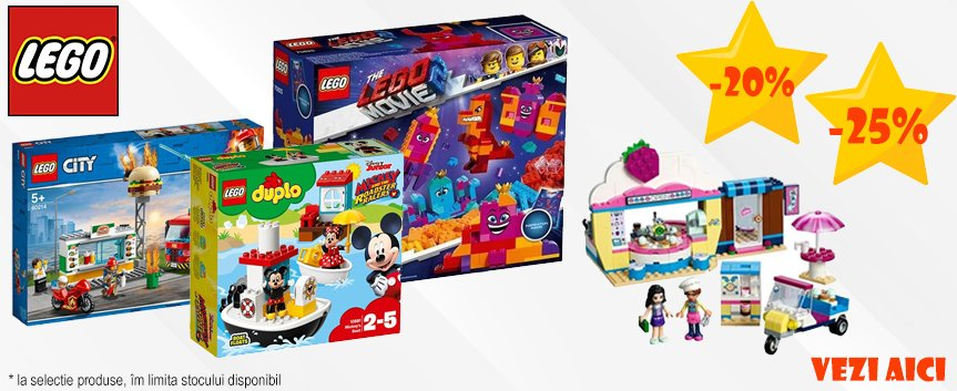 Promo LEGO 20% 25%