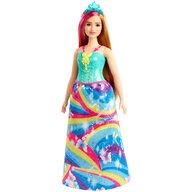 Mattel - Papusa Barbie Printesa Dreamtopia , Cu coronita albastra, Multicolor