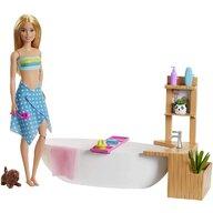 Mattel - Papusa Barbie , Cu o baie relaxanta, Multicolor