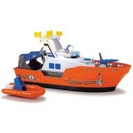 Dickie Toys - Barca de salvare Harbour Rescue DT-37 cu accesorii