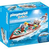 Playmobil - Barca de viteza cu motor