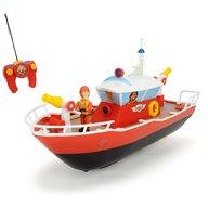 Dickie Toys - Barca Fireman Sam Titan cu telecomanda si figurina Sam