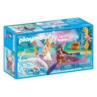 Playmobil - Barcuta Zanelor cu cuplu romantic