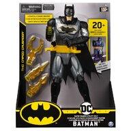 Spin Master - Figurina Supererou Deluxe , Batman , Cu accesorii, 29 cm, Cu fraze in limba engleza