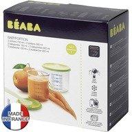 Beaba Set 4 recipiente ermetice PP pentru hrana