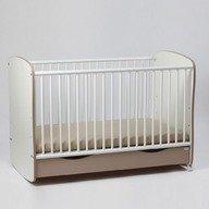 Bebe Design Patut Clasic Confort Pastel cu sertar si leganare 120/60 PCCP04.05