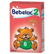 Bebelac - Lapte praf de continuare 2, 250g