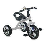 Bertoni - Tricicleta pentru copii A28 roti mari Grey
