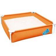 Bestway Piscina cu cadru metalic 122 cm portocaliu