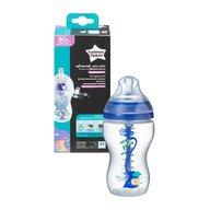 Tommee Tippee - Biberon Advanced Anti-colic pentru baieti cu sistem de ventilatie, 340 ml