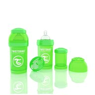 Twistshake Biberon Anti-colici 180 ml Verde