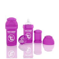 Twistshake  Biberon Anti-colici 180 ml Violet