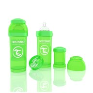 Twistshake  Biberon Anti-colici 260 ml Verde