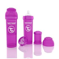 Twistshake Biberon Anti-colici 330 ml Violet