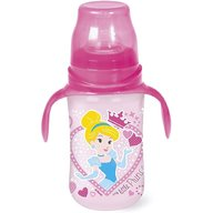 Lulabi - Biberon cu maner 300 ml Princess, Roz