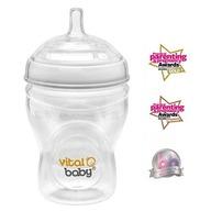 Biberon Vital Baby Breast-like - 240ml, 0 luni+