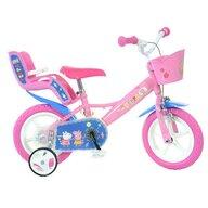 Dino Bikes - Bicicleta copii 12'' - Purcelusa Peppa