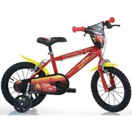 Dino Bikes - Bicicleta copii 16'' Cars Movie