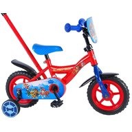 Volare - Bicicleta copii Paw Patrol cu roti ajutatoare si maner parental 10 inch