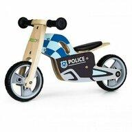 Ecotoys - Bicicleta fara pedale LC-V1330 , Politie din Lemn