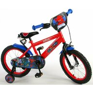 EandL Cycles - Bicicleta Spiderman 16''
