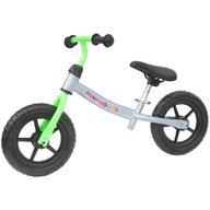 Kidcity - Bicicleta fara pedale transformabila 12 inch , Mamakids , Gri cu verde