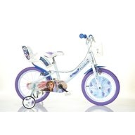 Dino Bikes - Bicicleta copii 14 inch, Frozen