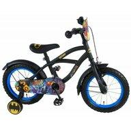Volare - Bicicleta pentru baieti, 14 inch, cu roti ajutatoare, partial montata, Batman