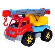 Bino - Camion copii, cu macara, 36 x 21 x 23 cm
