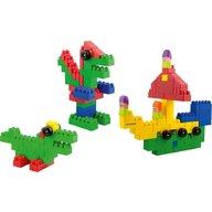 Miniland - Blocks Super Scoala 96 piese