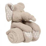 Bo Jungle - Jucarie de plus cu paturica pentru bebelusi Zimbe Elefantul